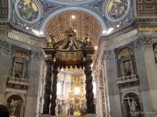 Interior of St. Peter's Basilica