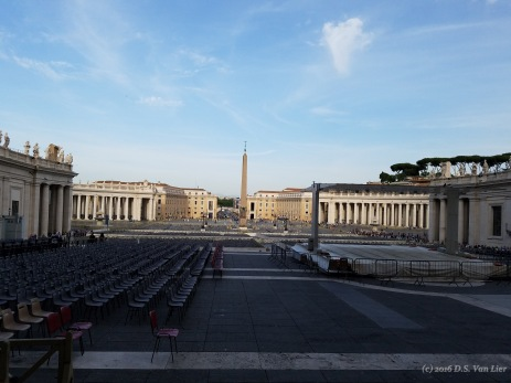 St. Peter's Square seen from St. Peter's Basilica