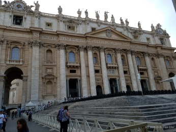 St. Peter's Basilica (the Papal Basilica of St. Peter in the Vatican)