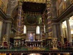 Altar in Basilica di Santa Maria Maggiore