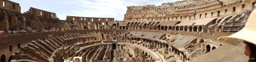 Panorama of the Colosseum (Coliseum)