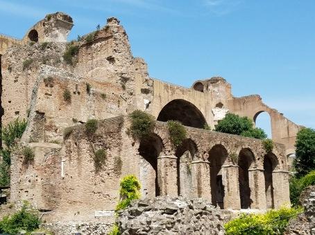 Ruins at the Forum Romanum / Roman Forum