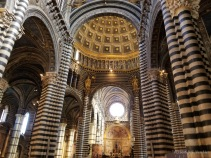 Interior of Siena Cathedral