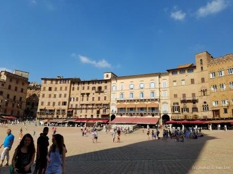 """Piazza del Campo (also called """"Il Campo""""), Siena"""
