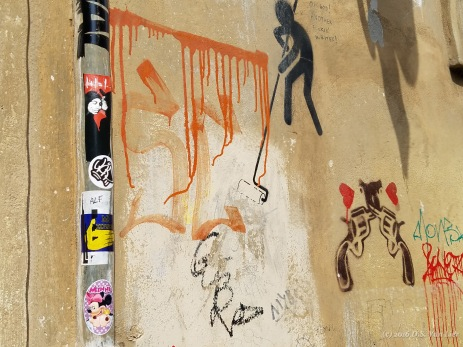 Artists unknown, near Clet Abraham's studio in Florence