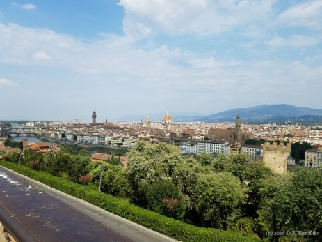 View of Florence from Piazzale Michelangelo (Michelangelo Square)