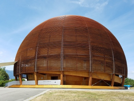 Globe of Science and Innovation at CERN in Geneva