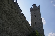 One of the 9 towers along the Musegg Wall in Lucerne