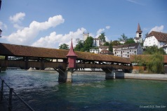 "Spreuerbrücke (""Mill Bridge"") in Lucerne"