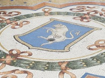 The Torino coat of arms. It's said that if you spin on the bull's balls, it will bring luck... not for the bull tho
