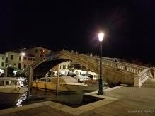 Ponte degli Scalzi across the Venice Grand Canal