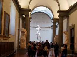 David at the Galleria dell'Accademia