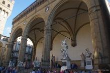 Loggia dei Lanzi at the Piazza della Signoria, Florence