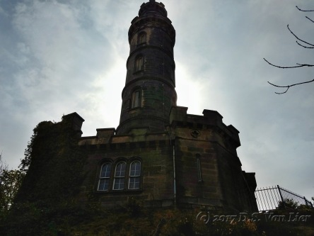 Nelson Monument on Calton HIll