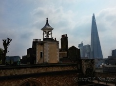 Old and new - Shard from Tower of London