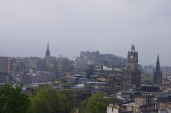 View of Old Town from Calton Hill
