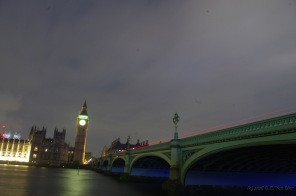 Westminster bridge and Elizabeth Tower
