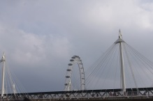 Golden Jubilee Bridges and the London Eye