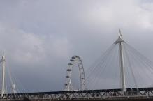 Golden Jubilee Bridges and the London Eye