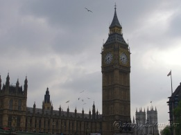 Elizabeth Tower and Palace of Westminster