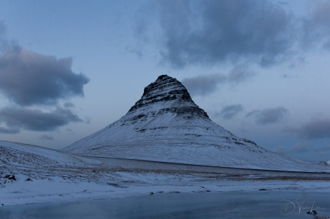 Kirkjufell -The mountain shaped like an arrowhead