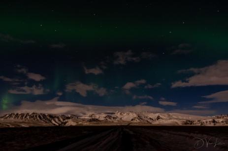 Aurora near Vik