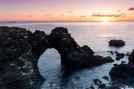 Gatklettur - Arch Rock on Snæfellsnes peninsula