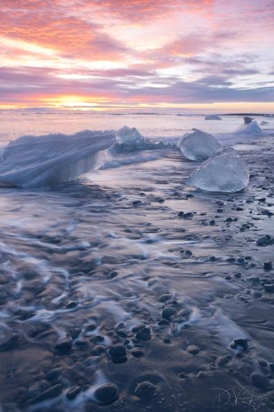 Ice on Diamond Beach