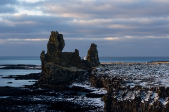 Londrangar sea stacks on the Snæfellsnes peninsula
