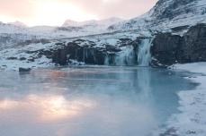 Kirkjufellsfoss lower falls