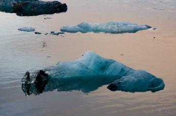 Ice in Jökulsárlón Glacier Lagoon